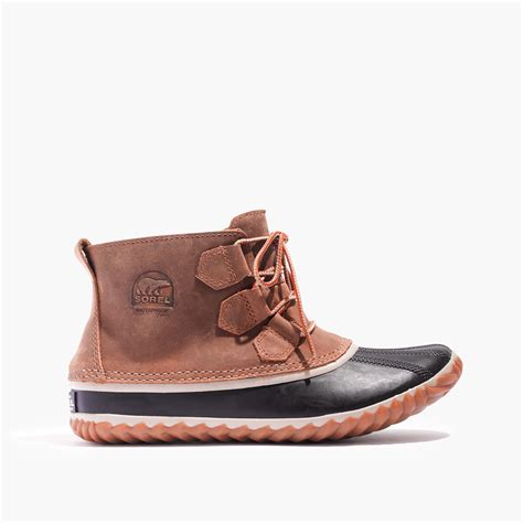 sorel out and about boot madewell sorel 174 out and about boots in brown lyst