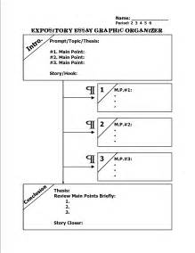 Graphic Organizers For Writing Expository Essays expository writing graphic organizers new calendar