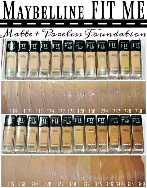Maybelline Foundation maybelline 174 fit me 174 matte poreless foundation powder