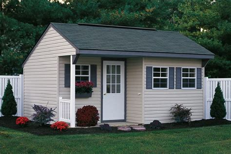 shed designs with porch porch nook shed save 100 foxscountrysheds s blog