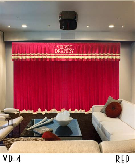 curtains  home theater  stage drapes