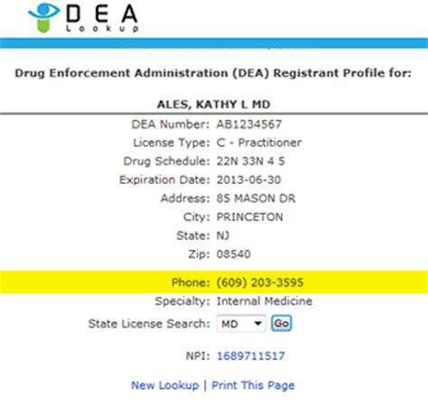 Md Search Lookup Dea Lookup Physician Phone Search