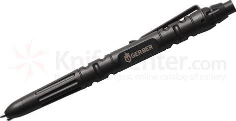 gerber enforcement knife gerber impromptu stainless steel tactical pen black