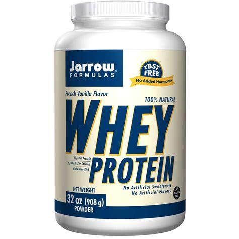 protein whey jarrow formulas 100 whey protein powder