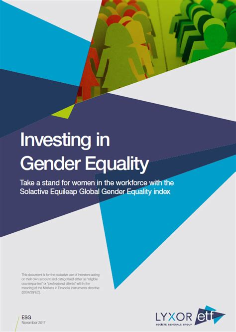 gender equality etf take a stand for in the workforce