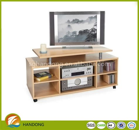 pb tv swing melamine flat package mdf pb tv stand for living room