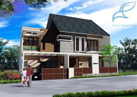 desain rumah sederhana type 90 contoh rumah minimalis