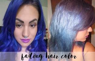 faded hair color how to fade haircolor fast tiny moon