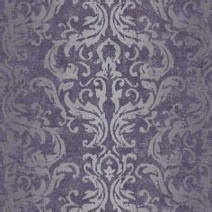 reverie mauve purple wallpaper departments diy at b q augustine wallpaper a printed wallpaper on a brown