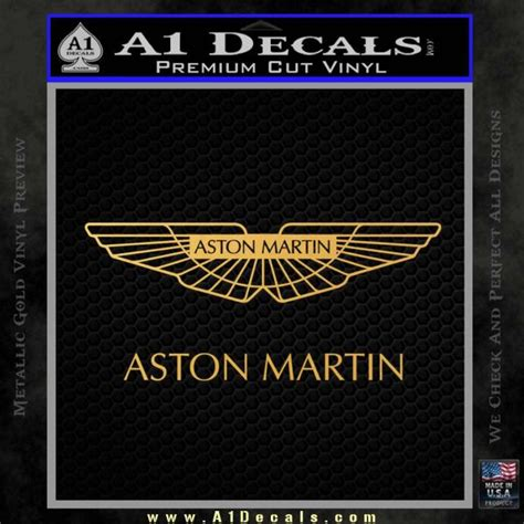 aston martin sticker aston martin logo decal sticker 187 a1 decals