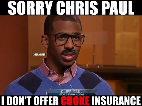 Chris Paul Memes - nba memes on twitter quot even cliff paul couldn t help out