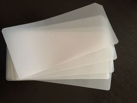 Paper For - vellum paper use as dividers or palette paper for mixing