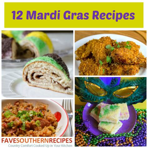 mardi gras dishes 12 mardi gras recipes