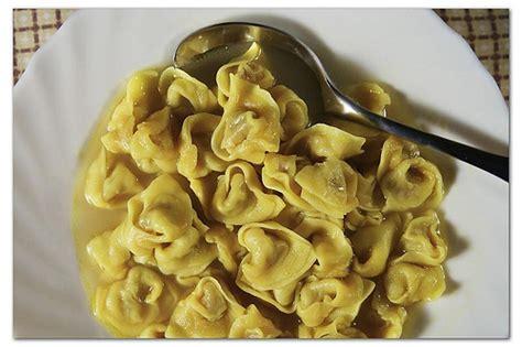 Dalmo Brodo All Calors foodista tortellini in brodo
