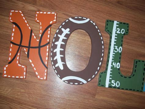 4 Foot Wooden Letters