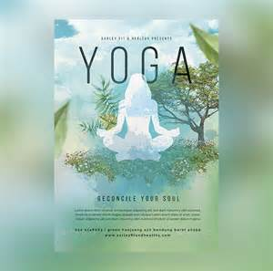 23 yoga flyer psd templates free amp premium designyep
