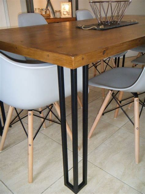 steel dining table legs best 25 metal table legs ideas on table legs