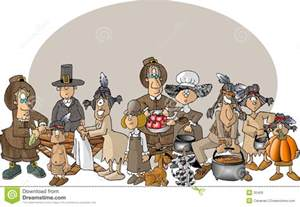 indians at first thanksgiving first thanksgiving royalty free stock images image 30409