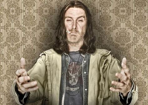 frank gallagher shameless no more frank gallagher scrubs up well for new show