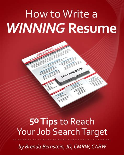 writing a winning resume a free copy of how to write a winning resume from