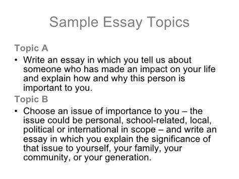 Political Issue Essay Topics by College Essay Tips By Jeanne