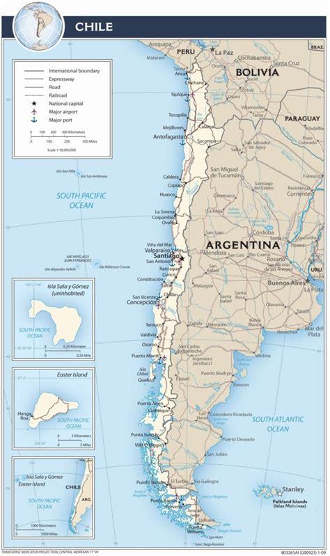 santiago chile on world map map santiago tourist chile south america tourism travel