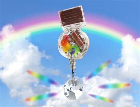 kikkerland design rainbow maker solar powered toys blackle mag
