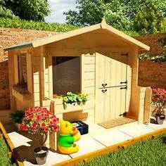 Backyard Discovery My Cedar Playhouse Uk 1000 Images About Cottage Playhouse Ideas On
