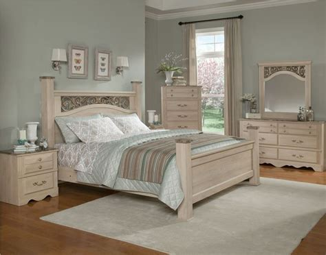 cream bedroom furniture standard furniture torina poster bedroom set in light