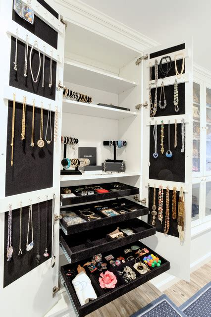 Jewelry Closet by Attic Dressing Room Traditional Closet New York By