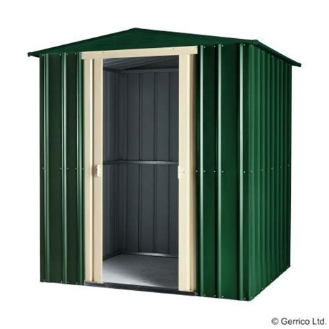 globel lotus apex 6x8 steel shed