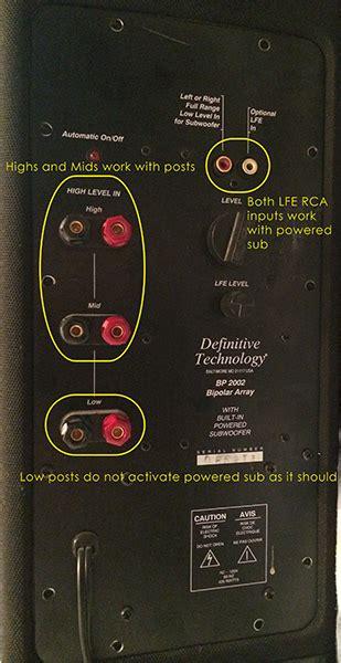 definitive technology bp tower    amp