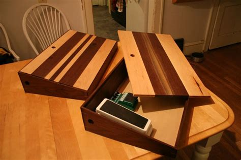 homemade pedal board design pedal boards pedalboards pinterest storage guitar