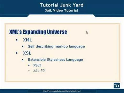 xml namespaces tutorial video xml tutorial 42 namespaces schemas doovi