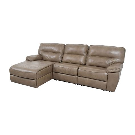 macy s grey leather sofa 76 macy s macy s gunmetal grey leather chaise