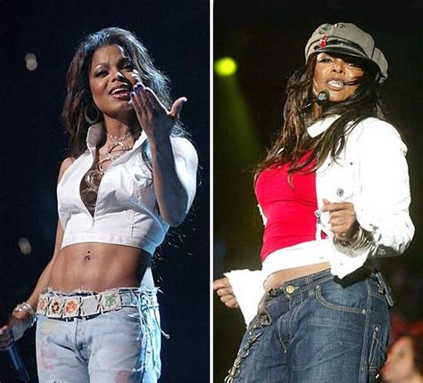Janet Jackson New Weight Loss Effort And Diet by Janet Jackson Weight Gain And Loss Before After