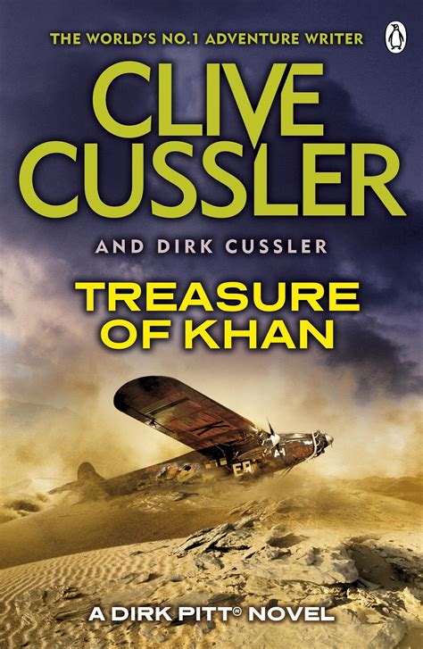 treasure of khan a dirk pitt adventure penguin books australia