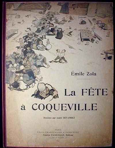 Theresa Emile Zola Original Hardcover la f 234 te 224 coqueville emile zola