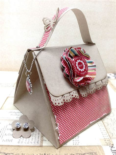 explosion box purse tutorial explosion box card paper purse things pinterest