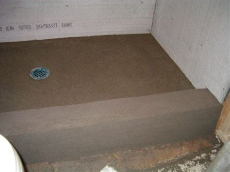 Shower Mud Base by Pin By O On Shower