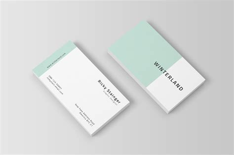 easy business card template simple business card template inspiration cardfaves