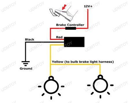 strobe led light wiring diagram get free image
