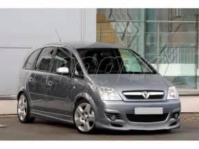 Opel Meriva 2005 Opel Meriva Facelift 2005 J Style Front Bumper Extension