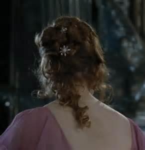 hermione yule hairstyle hermione granger yule ball hair hair pinterest