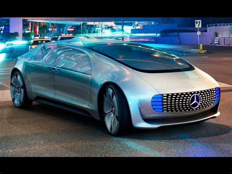 Commercial Driving Car by Mercedes F 015 Drives Itself To Ces Las Vegas Mercedes