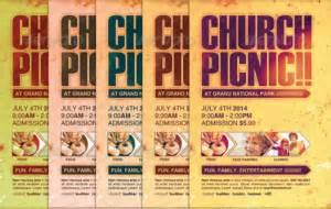 Church Picnic Flyer Templates by 20 Picnic And Bbq Flyer Templates Design
