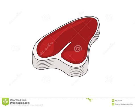 ni un pedazo de carne ilustraci 243 n del vector ilustraci 243 n de gordo aislado 39520300
