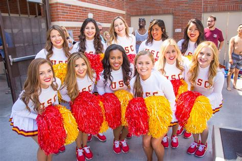 swim with mike usc cheerleaders 2016 cheer heaven usc song girls belly flops at 2016 swim with