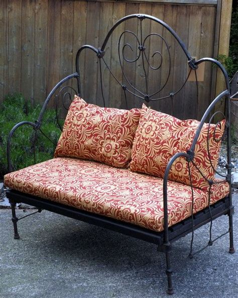 wrought iron indoor bench 17 best images about wrought iron beds on pinterest day