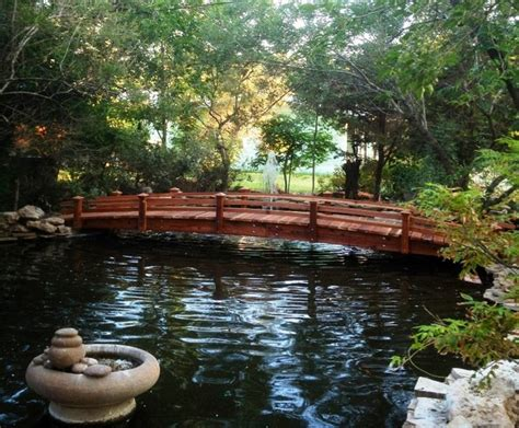 landscape bridge garden bridge tropical landscape san diego by